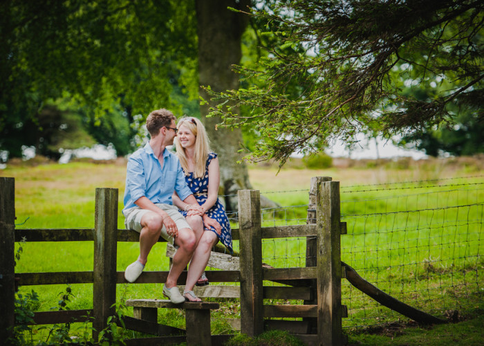 Engagement Shoot Shropshire | Helen and Ben