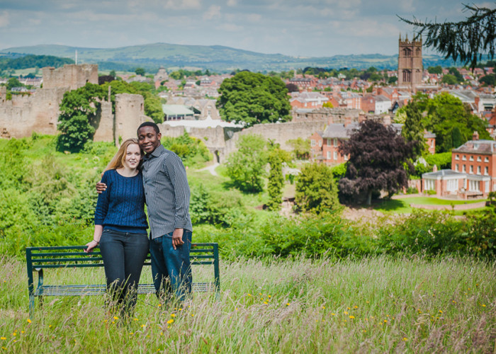 Whitcliff Common Engagement Shoot | Claire and Luckson