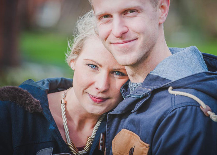 Delbury Hall | Abi & Lee's Engagement shoot