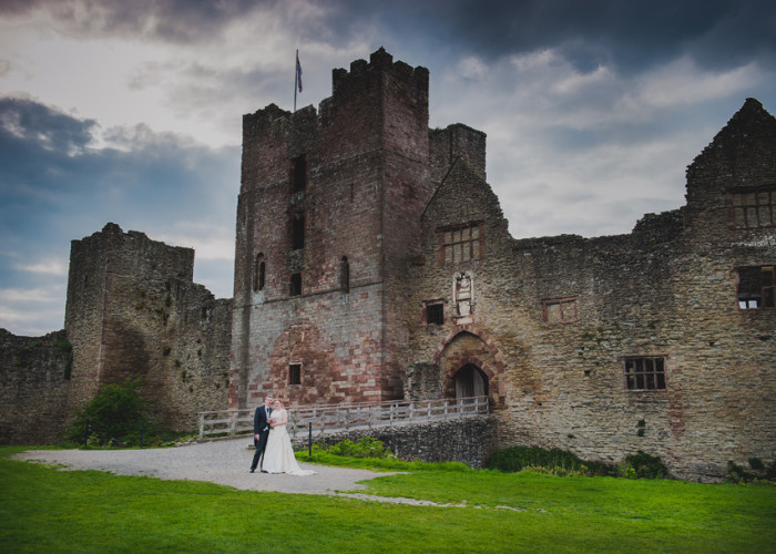 Ludlow Castle | Shelley & Paul's Wedding