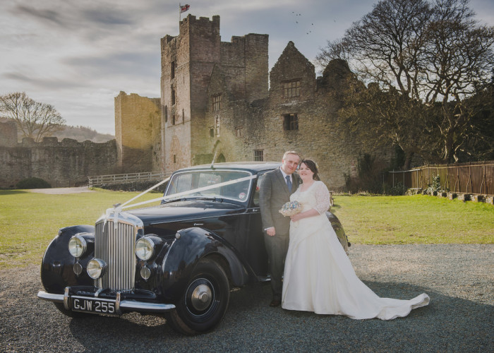 Becky & Wayne's Ludlow Castle Wedding | Wedding photographer Ludlow Castle