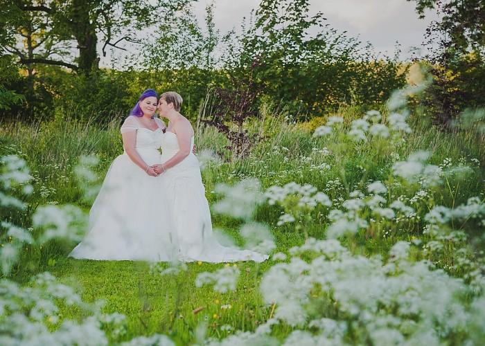 Lemore Manor Wedding | Freya & Jemima