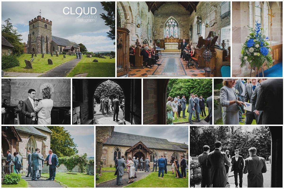 Natural wedding photography at Delbury Hall