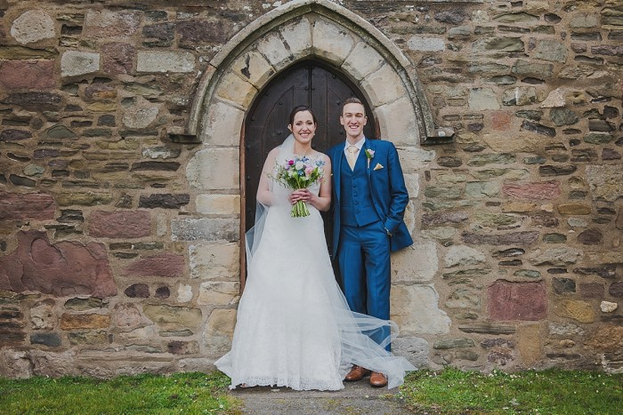Stephanie & James  | Village Hall Wedding in Shropshire