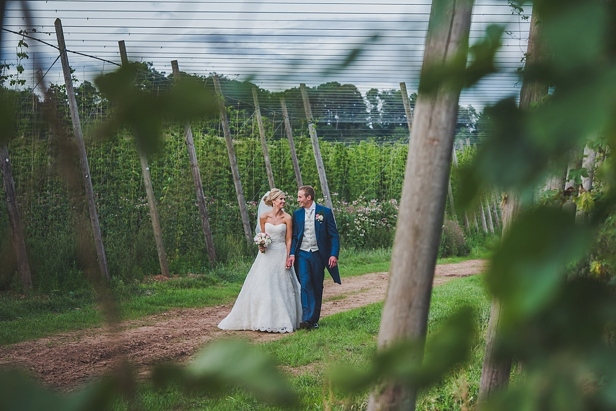 Worcestershire marquee wedding
