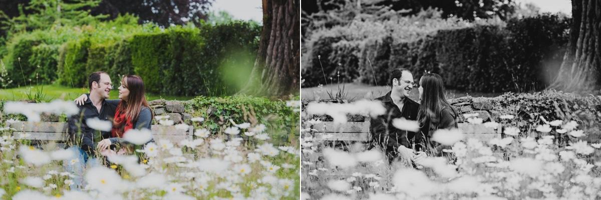 Shropshire engagement shoot