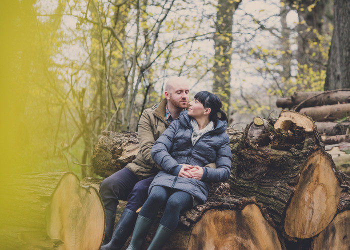 Winter Engagement Shoot | Chris and Zofia
