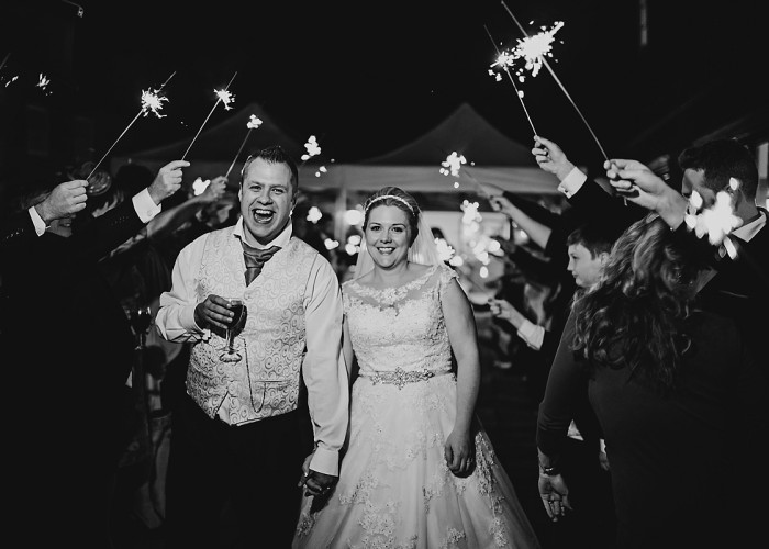 Delbury Hall | Laura and Ian