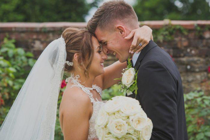 Outdoor wedding ceremony - Delbury Hall