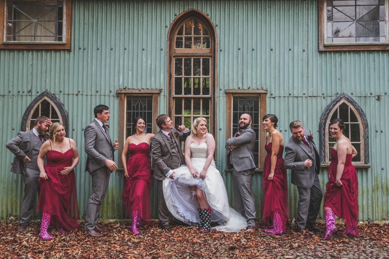 Walcot Hall Wedding