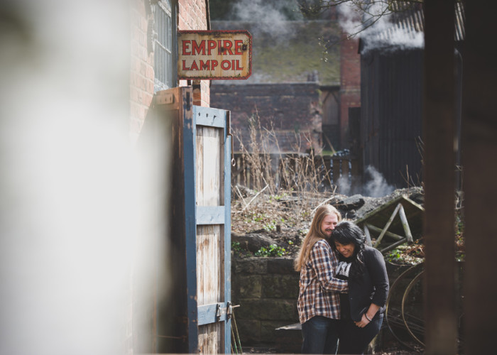 Blists Hill Victorian Town Wedding Photographer | Natalie and Ian pre wedding shoot