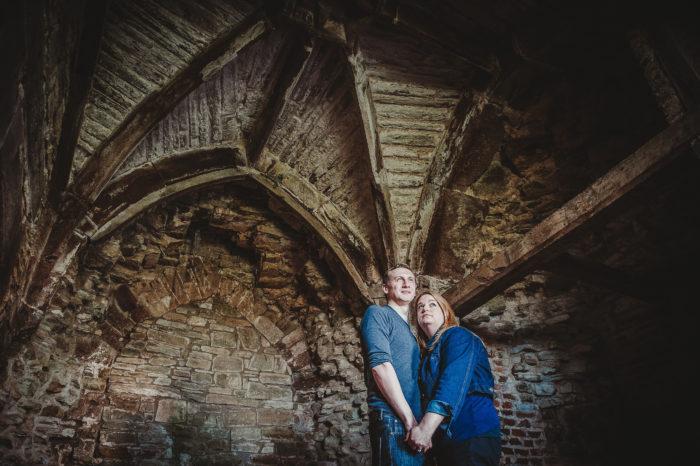 Ludlow Castle Wedding | Shelley & Paul's Engagement Shoot