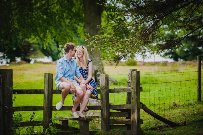 Engagement Shoot Shropshire | Helen and Ben