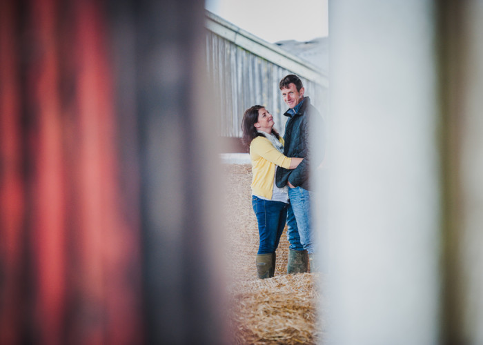 Shropshire Farm Engagement Shoot | Stuart and Dawn