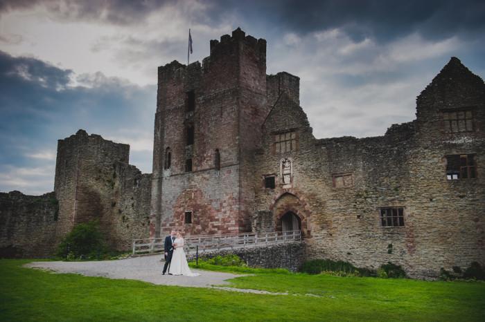 Ludlow Castle | Shelley & Paul's Wedding