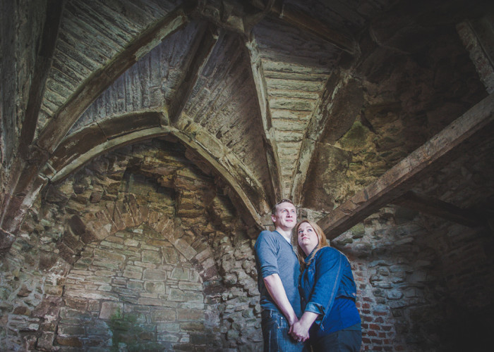 Ludlow Castle Wedding | Shelley & Paul's Engagement Shoot