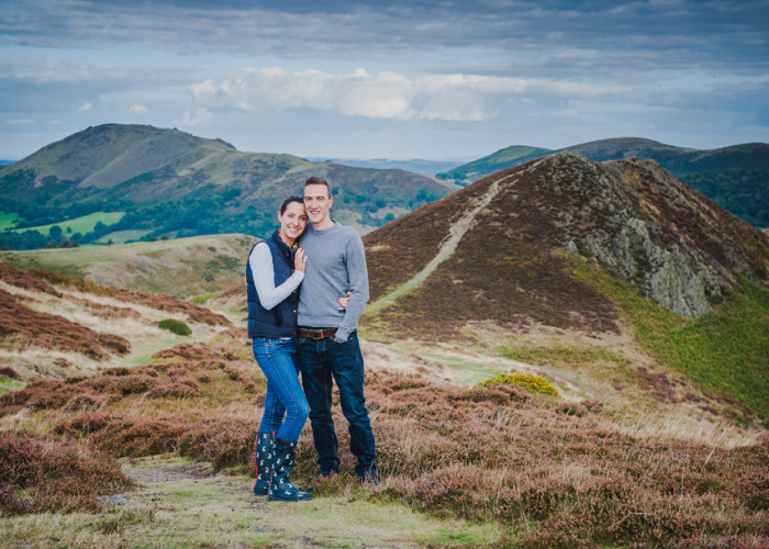 Lydbury North | Steph & James  Engagement  Shoot