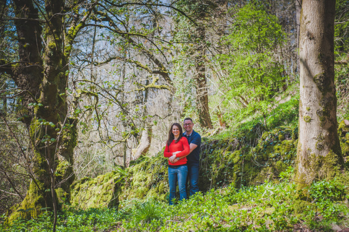 Lyde Arundel | Cathy and Carwyn engagement shoot