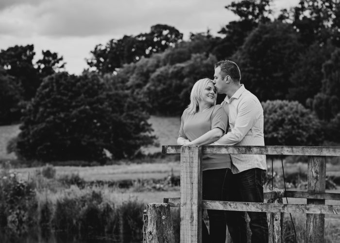 Laura & Ian| Delbury Engagement Shoot