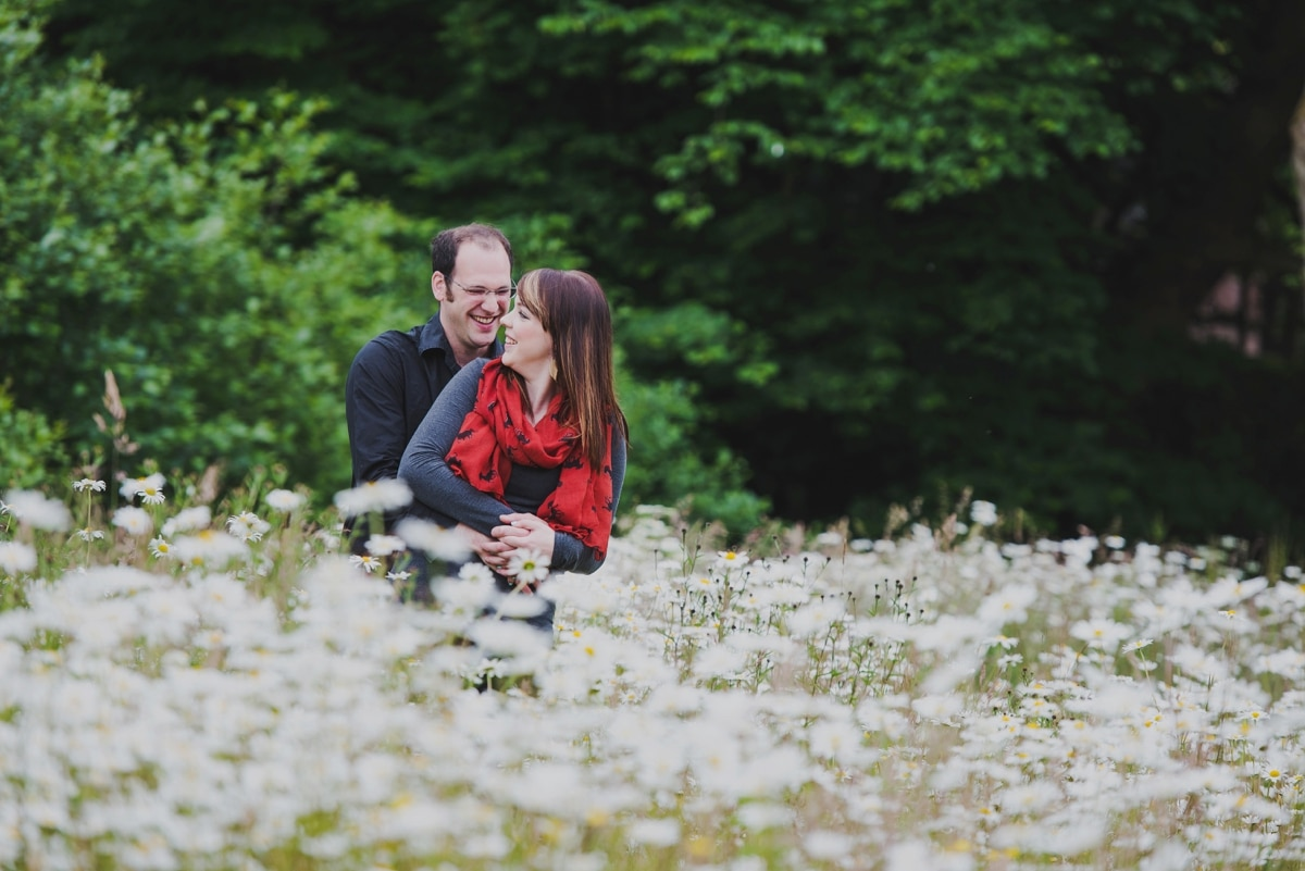 Shropshire engagement shoot
