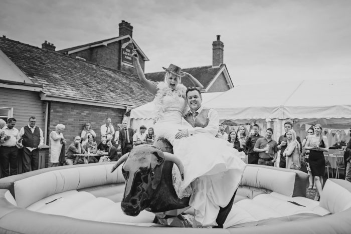 Salwey Arms Wedding | Joe & Heidi
