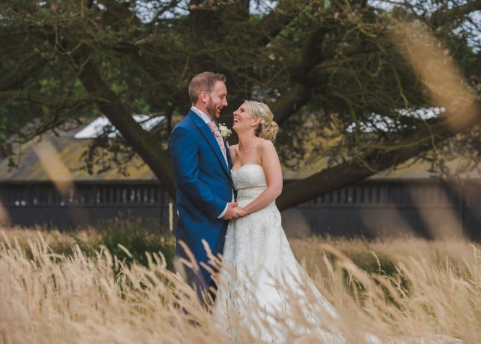 Summer wedding at Henley Hall