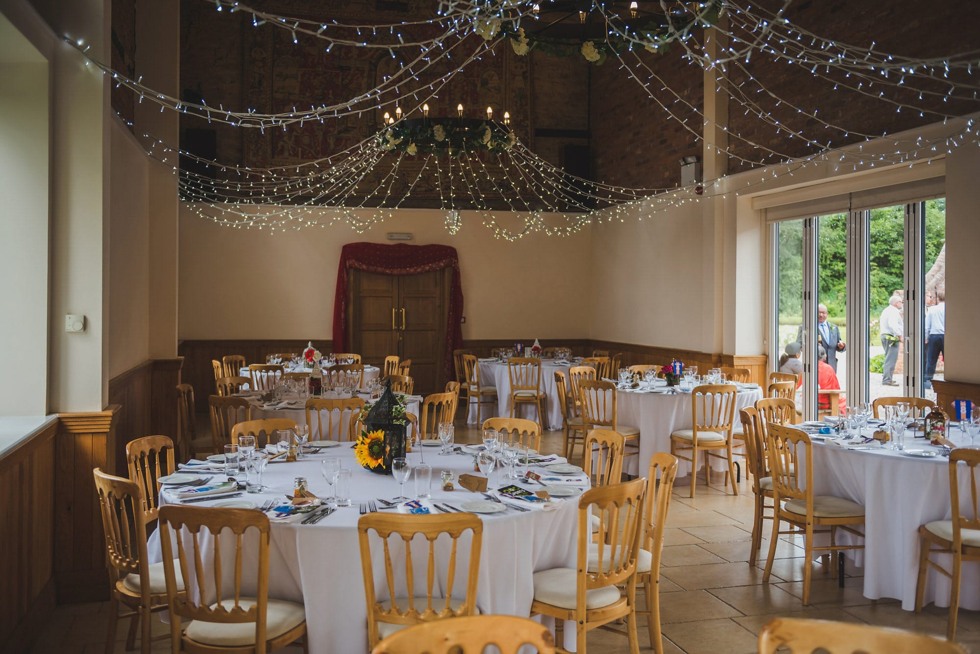 Shropshire wedding venue delbury hall