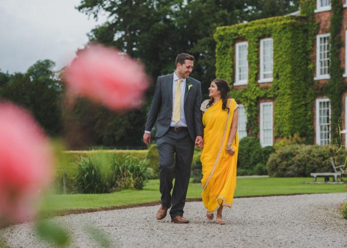 Raksha + Adam's Shropshire wedding