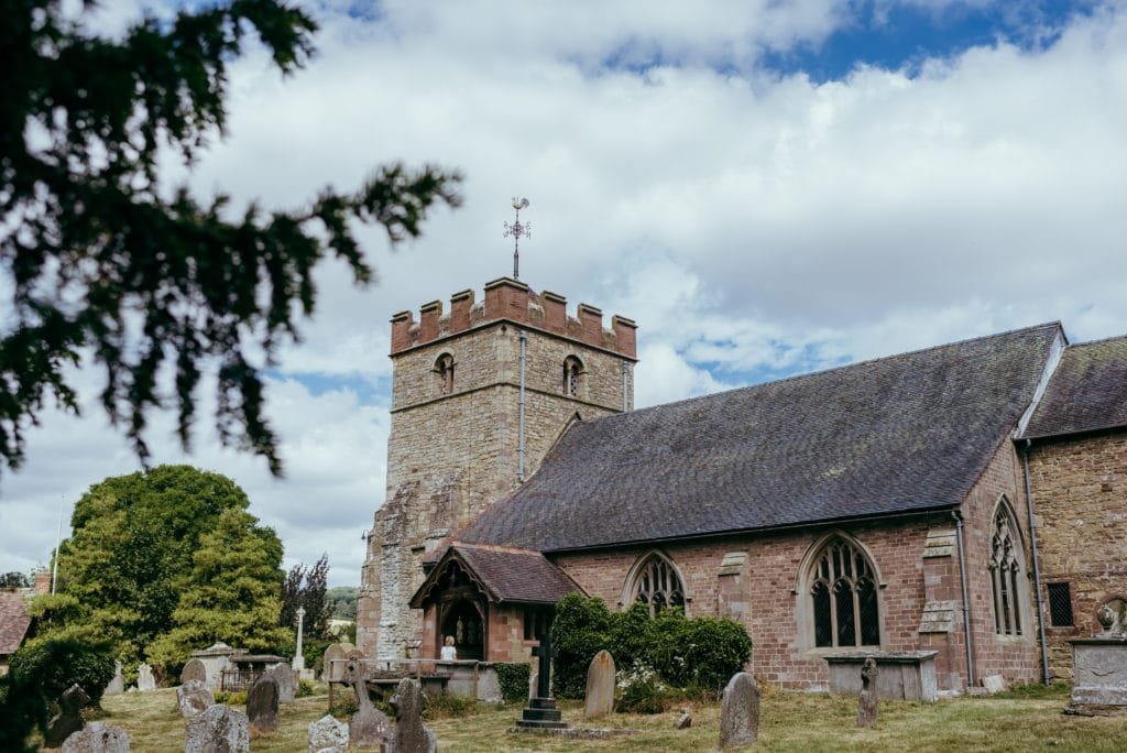 St peter church diddlebury