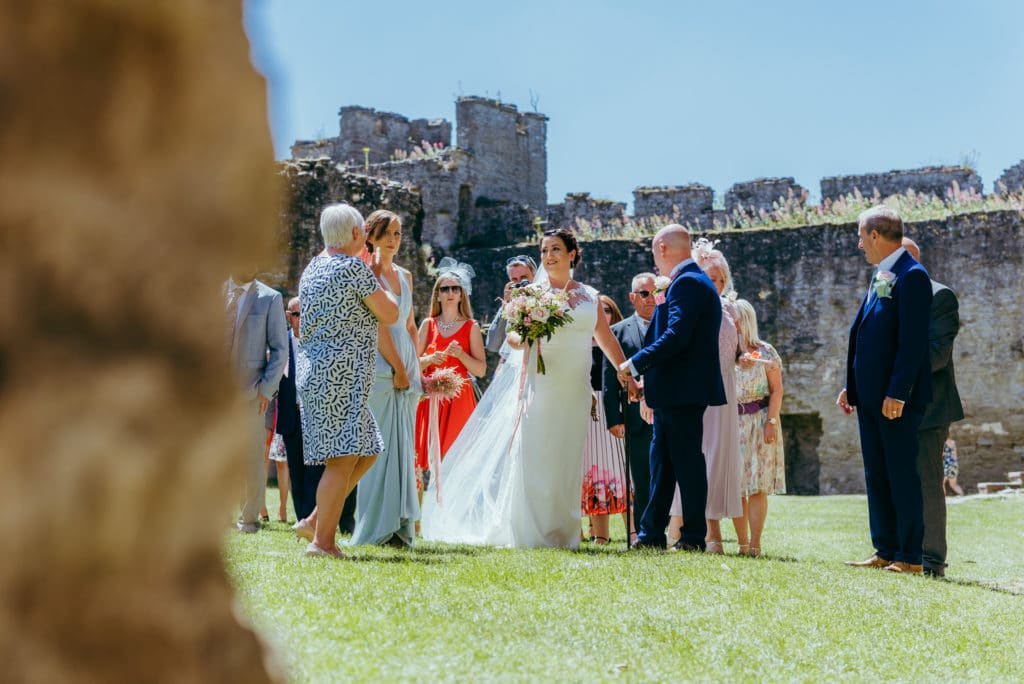 Ludlow castle wedding photographer