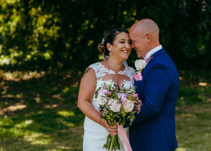 Ludlow castle wedding photographer