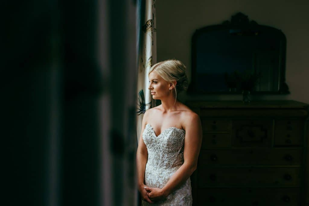 Birde portrait at wilde lodge by cloud9 wedding photography