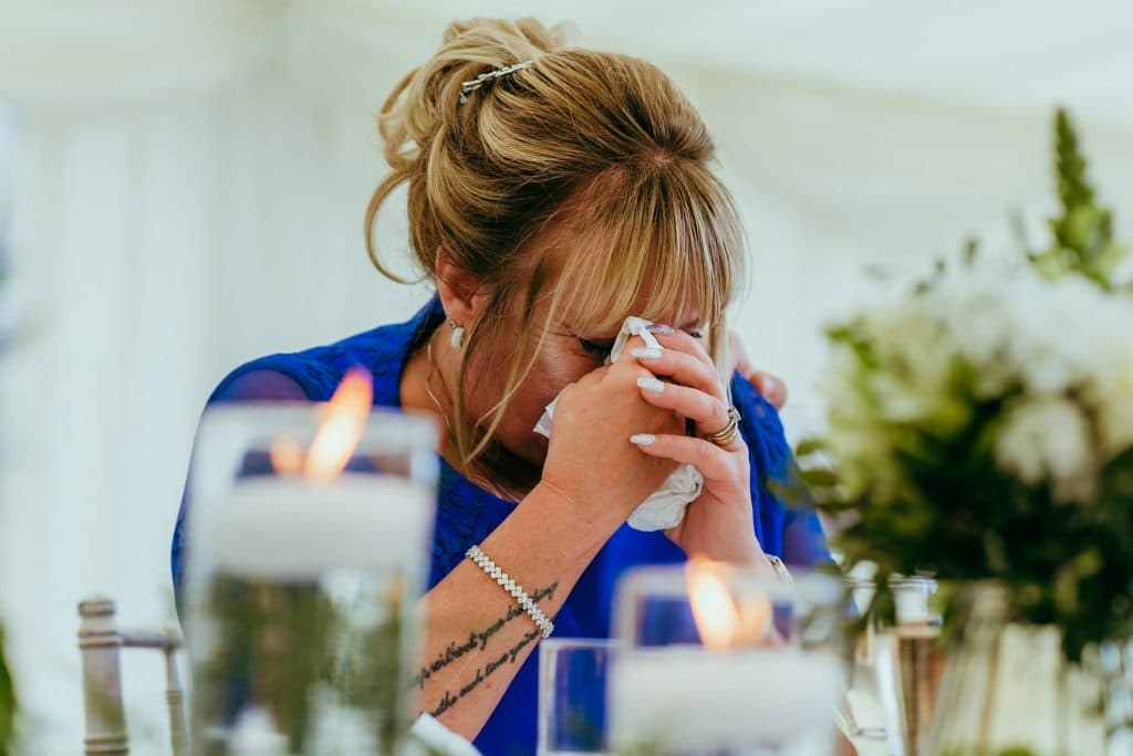 emotional wedding speeches - unposed wedding photography