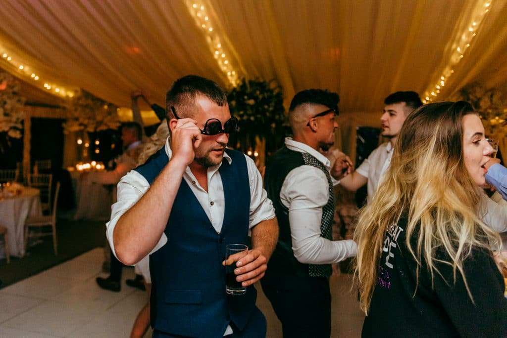 dancing at a wilde lodge wedding