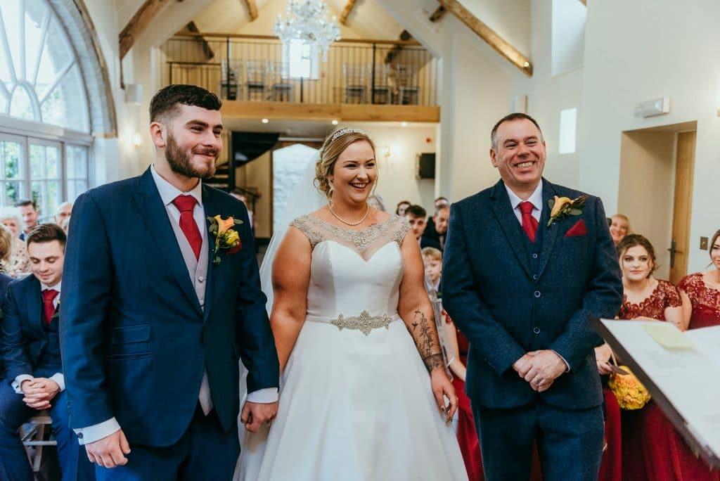 lemore manor wedding- ceremony-herefordshire wedding photographer
