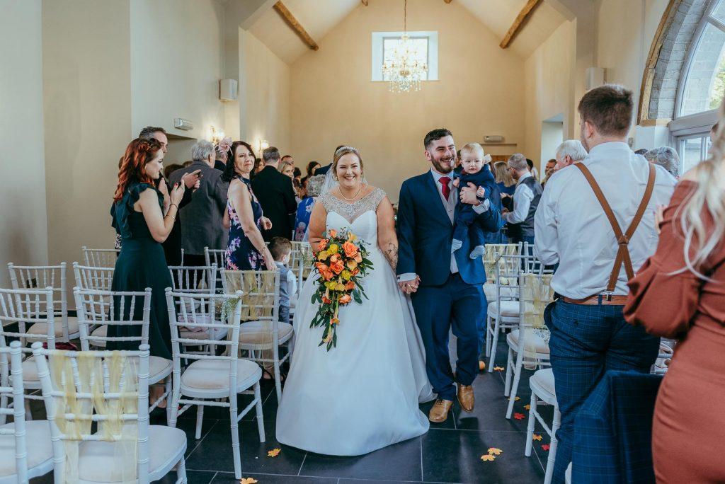 indoor wedding ceremony-lemore manor