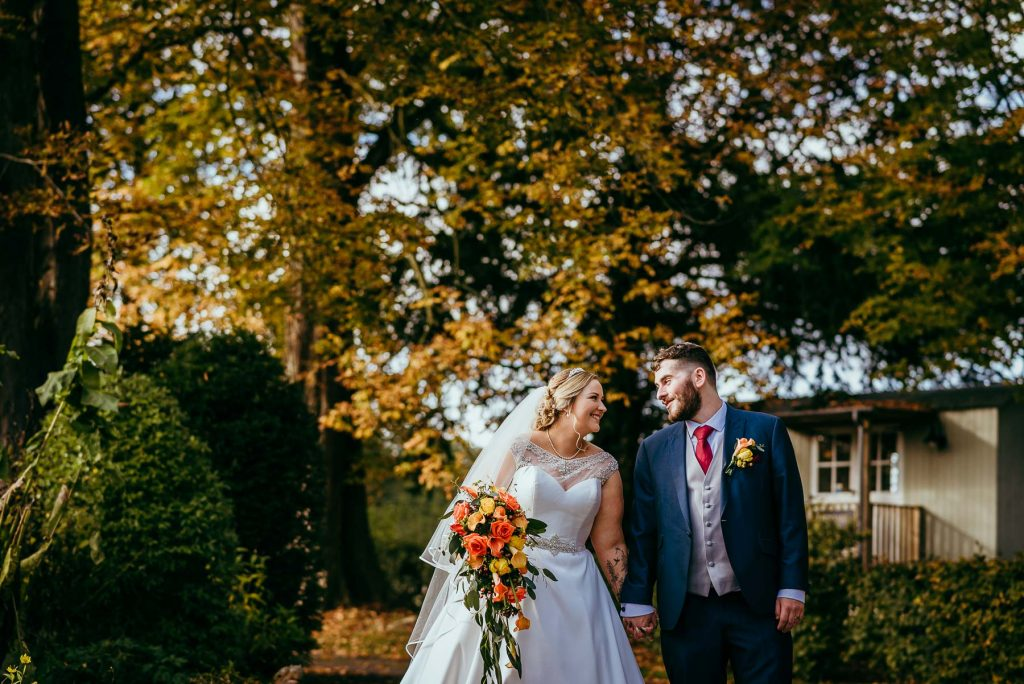 lemore manor auntumn wedding