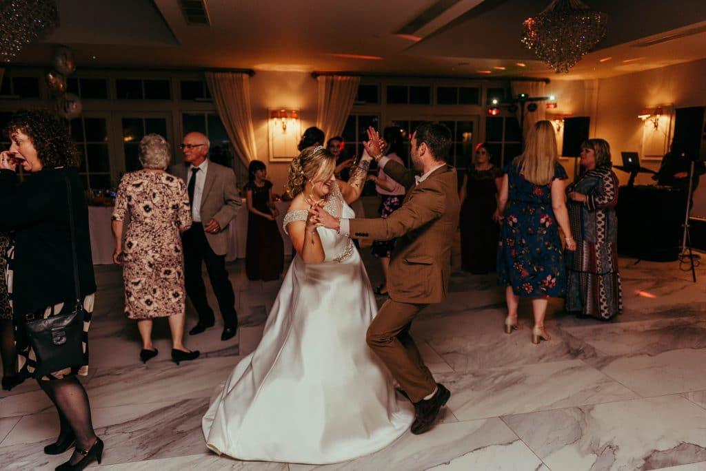 wedding party -herefordshire wedding photographer