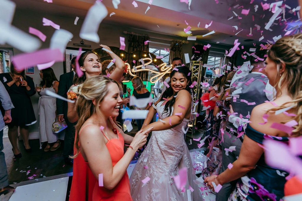 Shrewsbury wedding photographer - cannon confetti