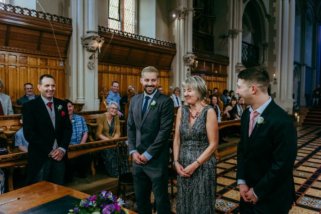 stanbrook abbey wedding ceremony