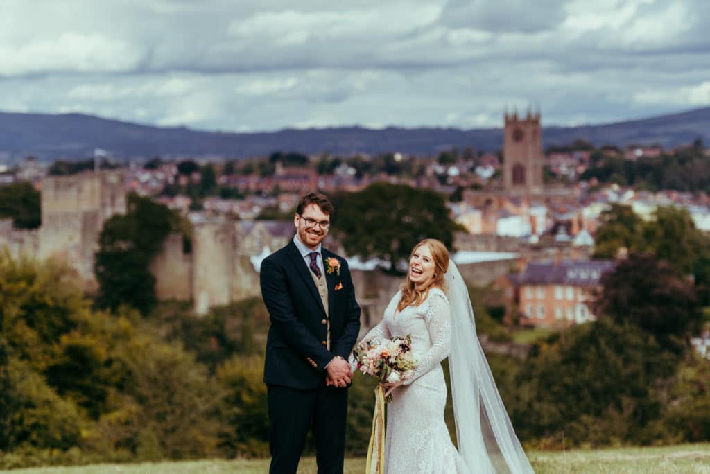 castle wedding shropshire