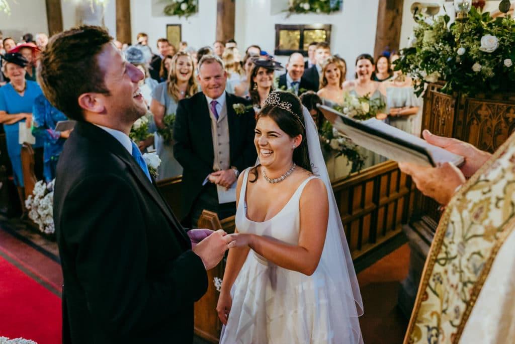 Powys wedding ceremony