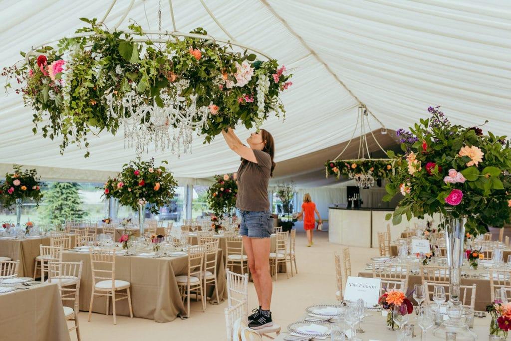 Powys Marquee wedding